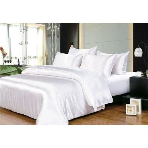 bed sheet quality king hotel quality satin bed sheets set 6 colours buy king sheet sets