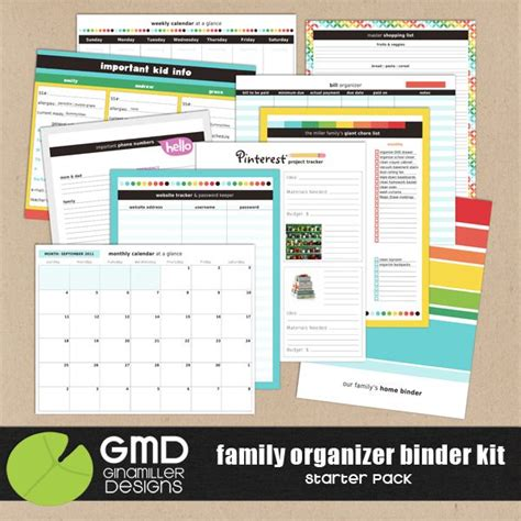 family organization 1000 ideas about family organizer binder on pinterest