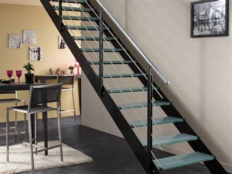 Escalier Droit Metal by Escalier Droit Et Moderne En M 233 Tal Photo 9 10 Style