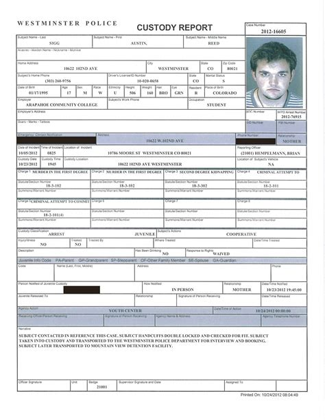 crime report template best photos of homicide report sle sle report murder homicide