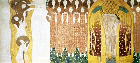 Klimt Der Kuss Interpretation by Beethoven Frieze The To The Whole World Suites