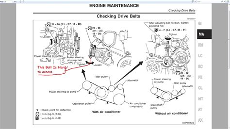 1995 nissan maxima power steering belt wiring diagrams