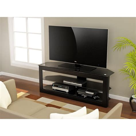 piano black tv stand maxine rc willey furniture store