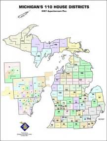 representative district map redistricting in michigan new political maps from the