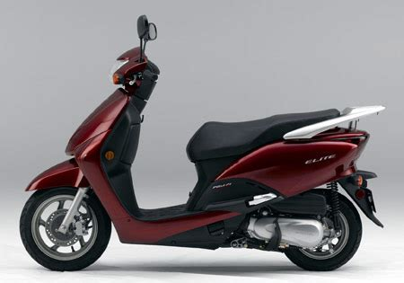 honda announces  elite scooter