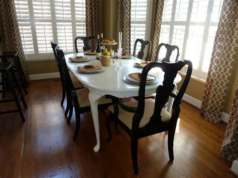 painted dining room chairs painted queen anne dining table for the home pinterest