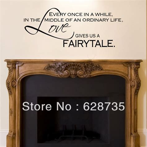 Fireplace Wall Decal by Gives Us A Fairytale Wall Stickers Bedroom Decor