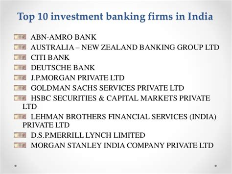 Top Mba Programs For Investment Banking by Top 10 Investments Images Usseek