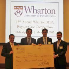 Wharton Mba Investment Club by Wharton Wins Top Prize Against 15 Global Mba Programs At