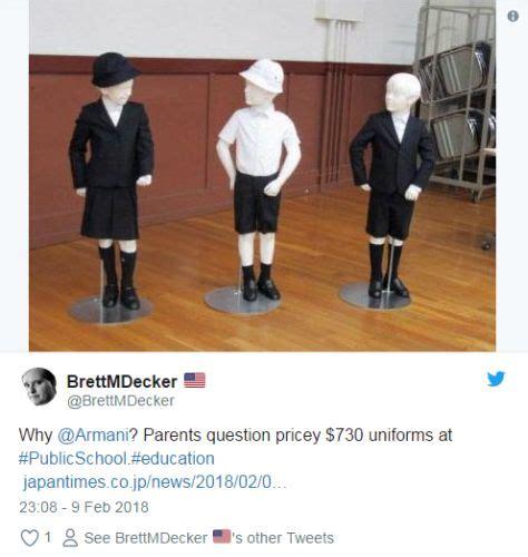 Harga Baju Giorgio Armani ibu bapa bengang pengetua perkenal baju sekolah cekik