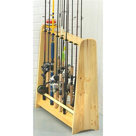 Fishing Rod Racks For Home 16 rod fishing rack 167626 fishing rod racks at