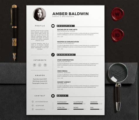 Creative Resume Templates Docx Free 79 best resume folio inspiration images on