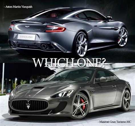 Aston Martin Vs Maserati by Aston Vs Maserati Bossroyal