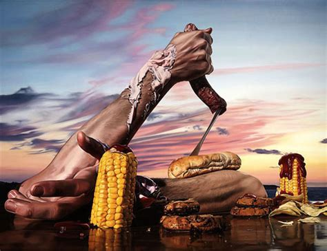 Salvadore Dali Werke by Dali Inspired Paintings Of Food And Kitchen Tools Foodiggity