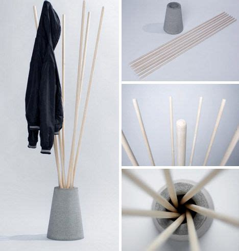 Twist Coatrack Single Material Elegance by 25 Best Ideas About Concrete Wood On Concrete