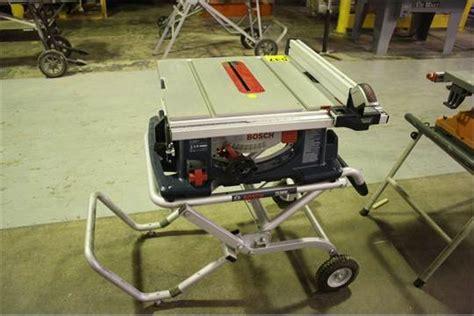 Bosch Model 4100 10 Table Saw W Bosch Model Ts3000
