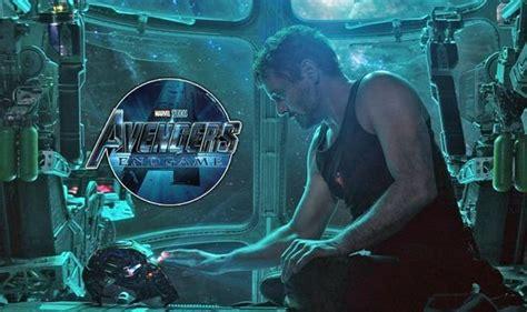 avengers endgame hear nod iron man