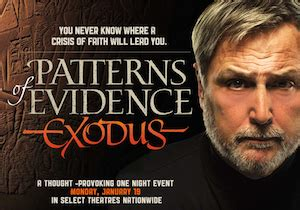 pattern of evidence amazon there was no exodus