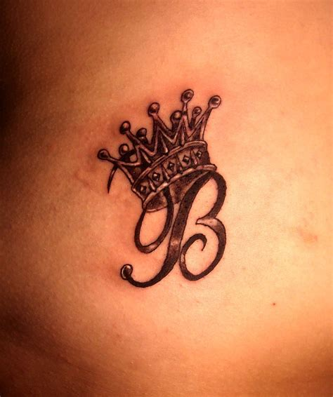 tattoo design with letter a 25 awesome queen crown tattoos