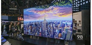 Image result for What is The Biggest TV in The World?. Size: 322 x 160. Source: vuhes.com