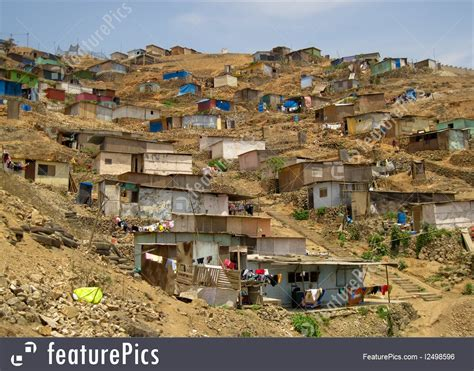 Free House Plans by South America Slums Peru Stock Photo I2498596 At