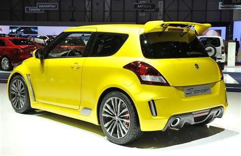 Suzuki Sporty Suzuki Shows Its Sporty S Concept In Geneva