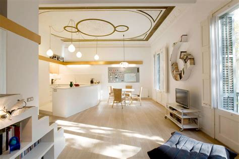 flat ideas stylish and functional modern apartment in barcelona