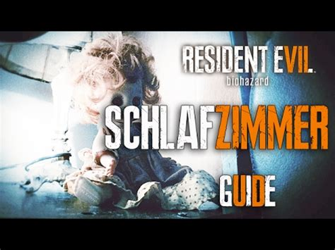schlafzimmer l 214 sung resident evil 7 guide