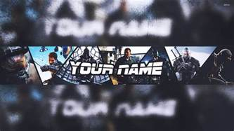 Gaming Banner Template by Banner Template Gaming 2015 2016 Photoshop Speedart