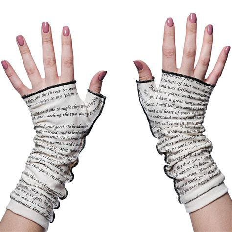 small ladies writing little women writing gloves soft fingerless gloves