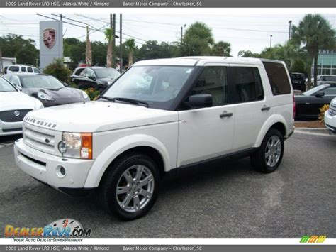 land rover lr3 white 2009 land rover lr3 hse alaska white almond photo 8