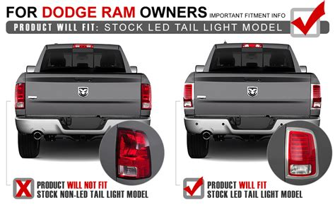2014 dodge ram 1500 tail lights spyder 2013 17 dodge ram truck factory led model led