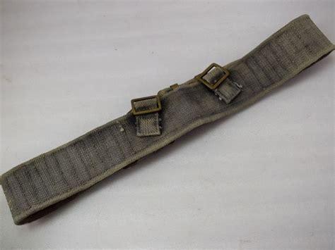 37 pattern web belt 19 original ww2 indian made 37 pattern webbing belt 1942