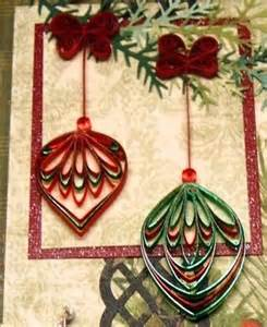 ornament quilled snowflakes and christmas patterns