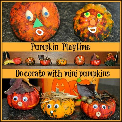 Small Pumpkins Decorating Ideas by Ideas For Toddlers Crafts And Activities