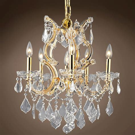 theresa 6 light chandelier joshua marshal 700977 theresa 6 light 20 quot chandelier