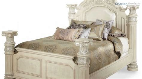 monte carlo ii silver pearl poster bedroom collection from