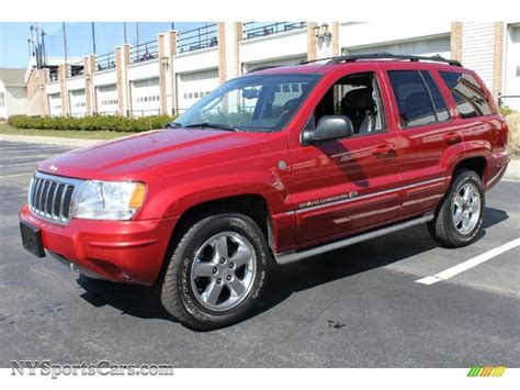 red jeep 2004 jeep grand cherokee red 200 interior and exterior
