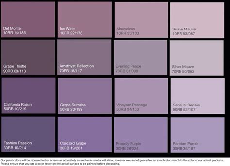 purple paint colors glidden coloring