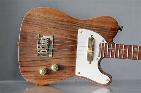 Ukulele Handmade - electric ukulele ukecaster handmade reverb
