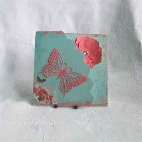 Folksy Handmade - handmade card for any occasion vintage a