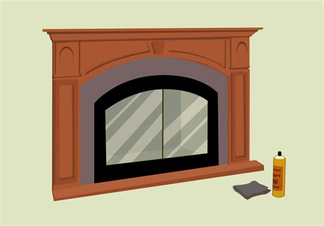Cleaning The Glass On A Gas Fireplace by Cleaning Fireplace Glass Home Design