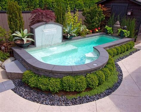 Swimming Pools Small Backyards Small Backyard Pools Ideas 2016 Decoration Y