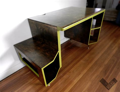gaming desk designs vikter gaming desk by tom balko at coroflot com