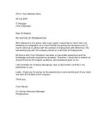 Great Letter Of Resignation by Resignation Letter Format Notice Of Resignation Letter