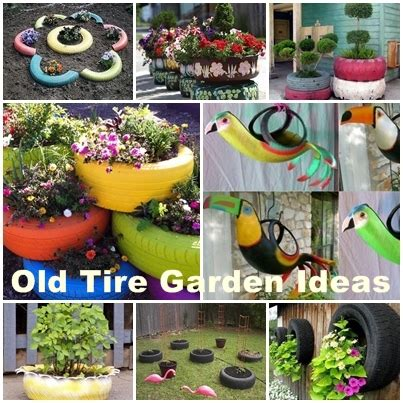 how to diy old tire garden ideas recycled backyard cool how to diy old tire garden ideas recycled backyard