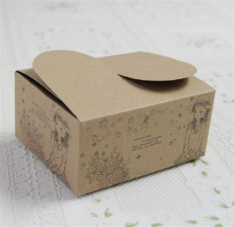Craft Paper Packaging - craft paper box pattern promotion shopping for