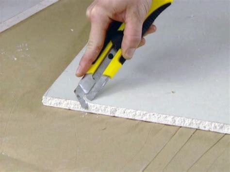 best way to cut ceiling tiles all about the different types of drywall diy