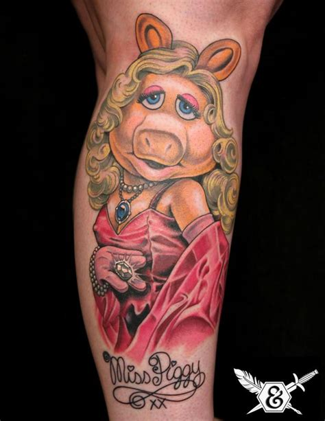 miss piggy by russ abbott tattoonow