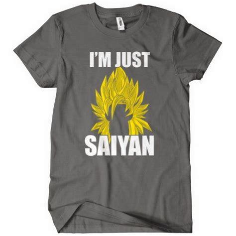 Goku Saiyan2 Tshirt Gildan z goku and on